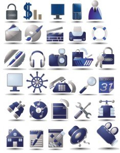Free vectors icons set 3
