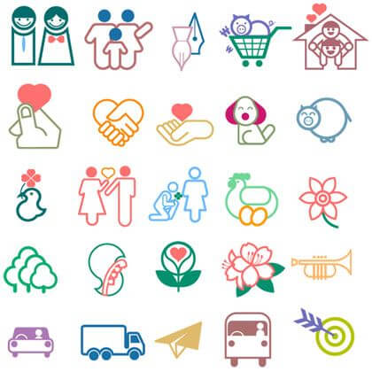 Line Style Icon Set png