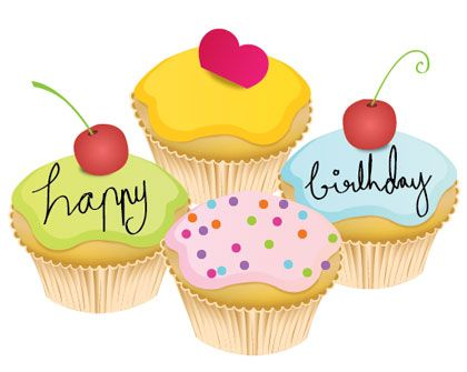 Lovely Little Birthday Cake Vector Art Vector EPS Free Download