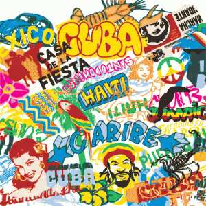 Pop Culture Movement and The Street Element Vector Art