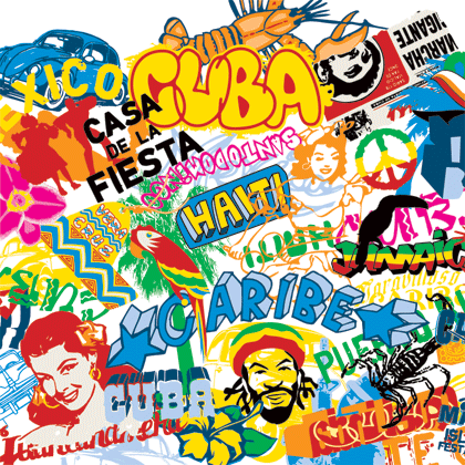 Pop Culture Movement and The Street Element Vector Art png