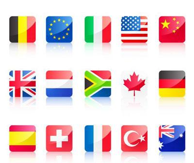 Free World Flags 1 png