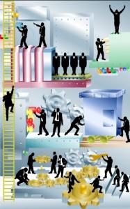 Business-illustration-Vector