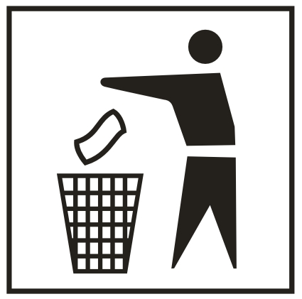 Recycling Man Vector Art png
