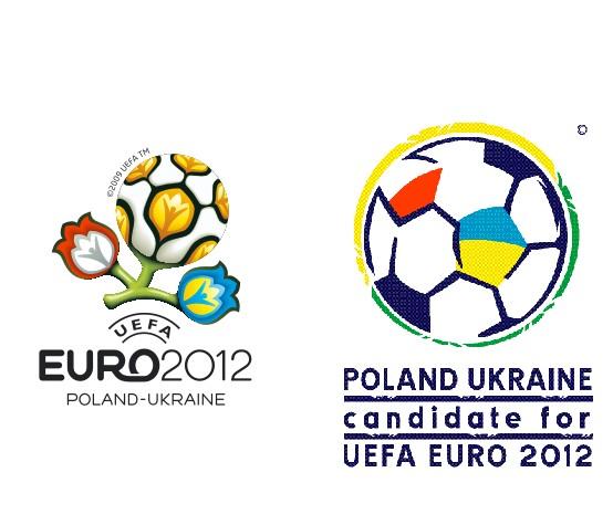 Poland Ukraine UEFA EURO 2012 logo png