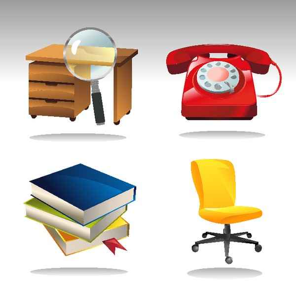 4 Office Related Icons png