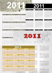 2011-calendars