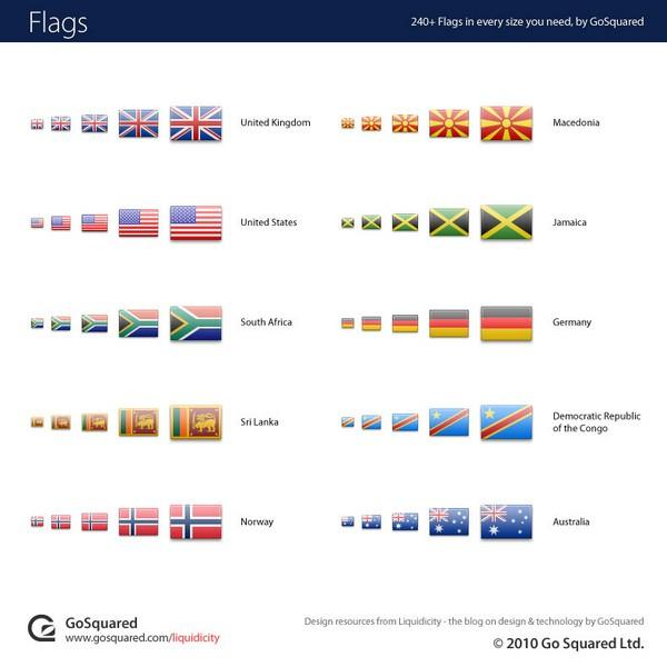 World Flag Icon Set png