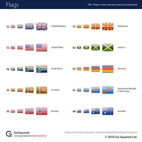 World Flag Icon Set png