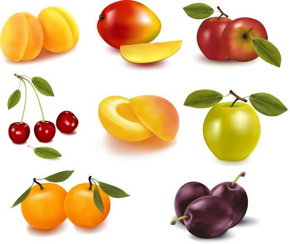 Orange Apple Apricot Cherry Plum Png Images png