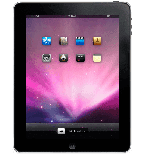 High Quality Premium Apple IPAD Icons [PNG File] png