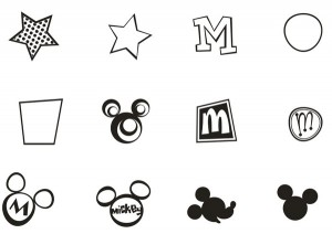 Mickey Mouse Signs [EPS File]
