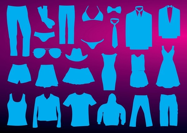 Clothing Types Silhouette png