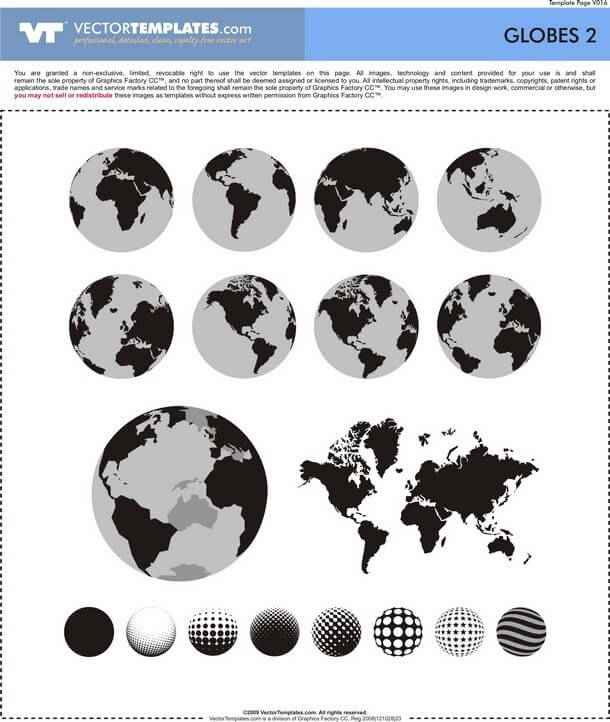 Globes png