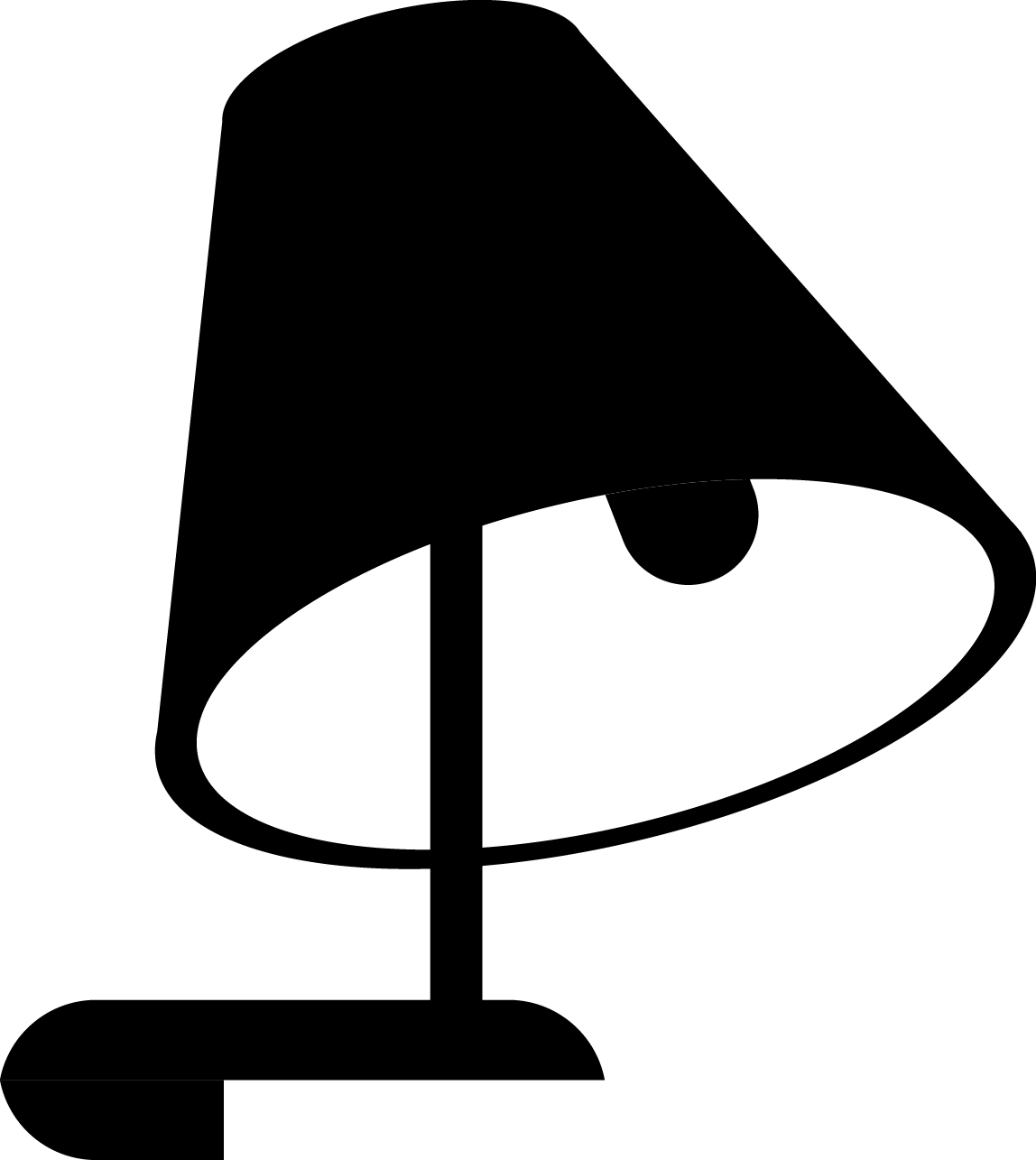 Lamp Silhouette png