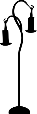 lamp silhouette010 122x375