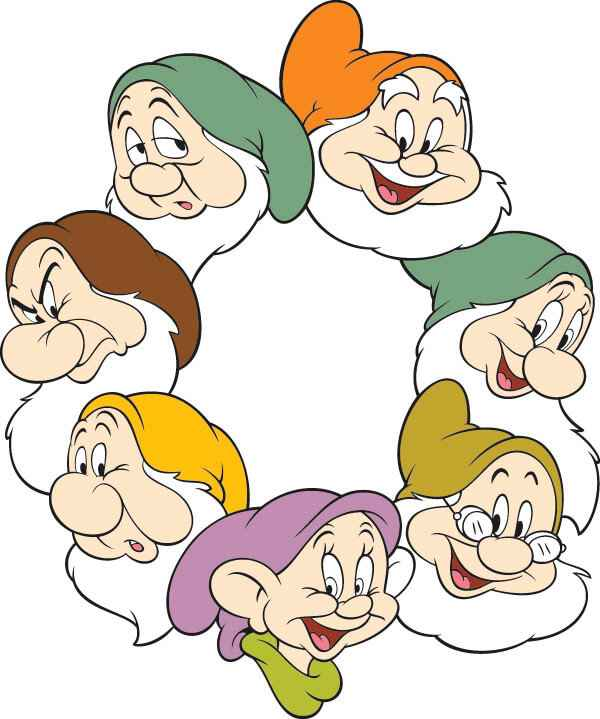 Seven Dwarfs png