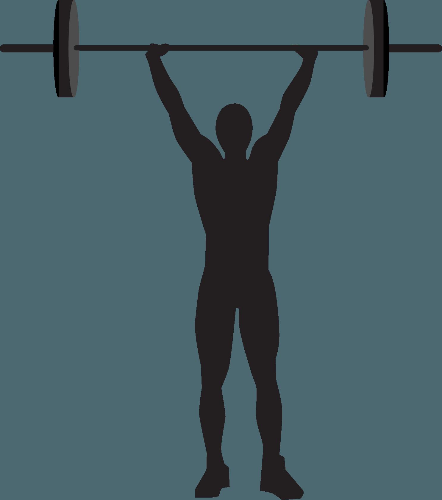 Sportsmen Silhouette Vector Icon Template Clipart Free