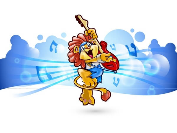 Children Vector Animals Rock Band [AI Files] png