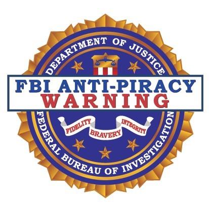 FBI Anti Piracy Warning Logo png