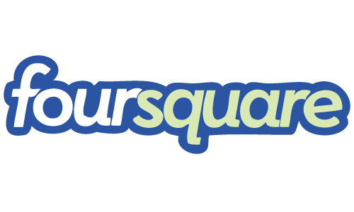 foursquare logo eps file free company logo download vector