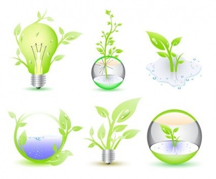 Green Eco Icon Collection [EPS File]