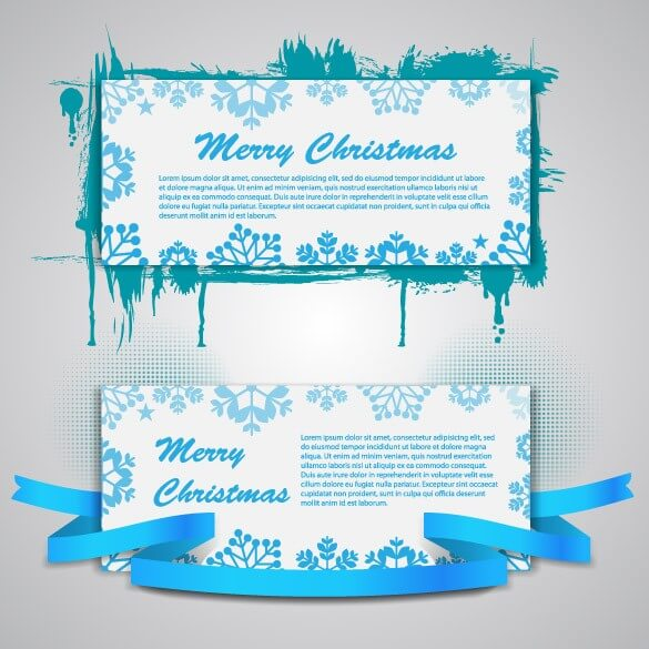 Christmas Banners [EPS File] png