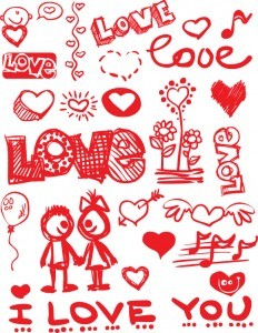 graffiti-style-valentines-day-material-elements