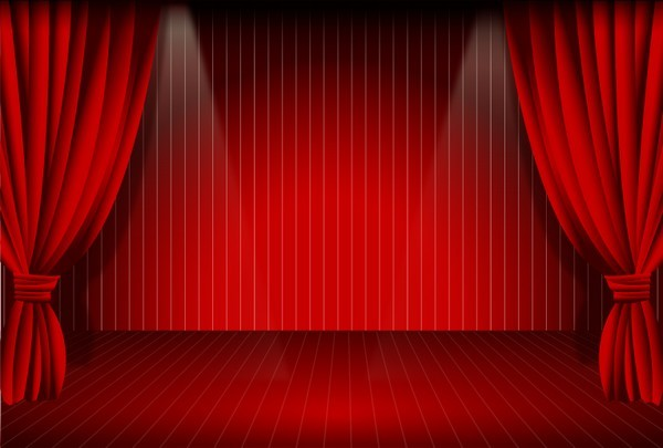 Stage Curtain png