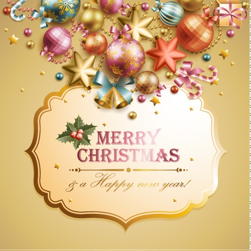 Christmas elements background material 02 png