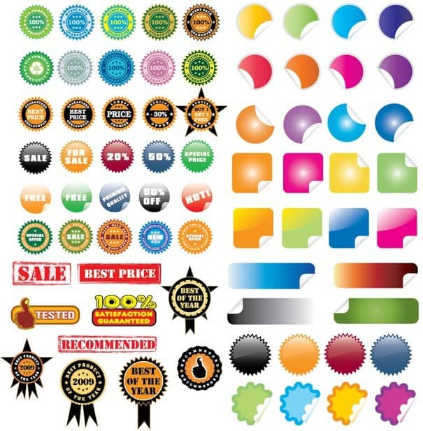 40+ Stickers [EPS File] png