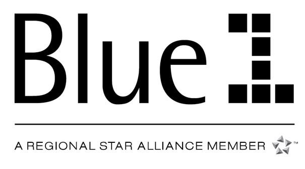 Blue1 Airline Logo png