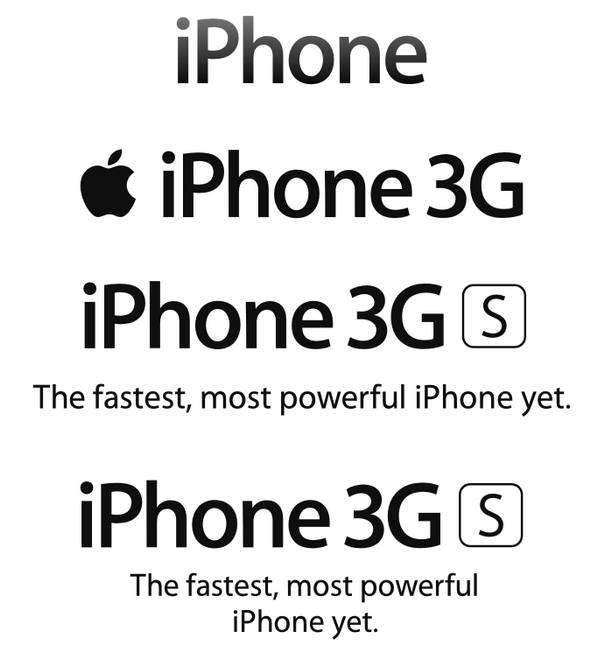 Iphone 3G S Logo png