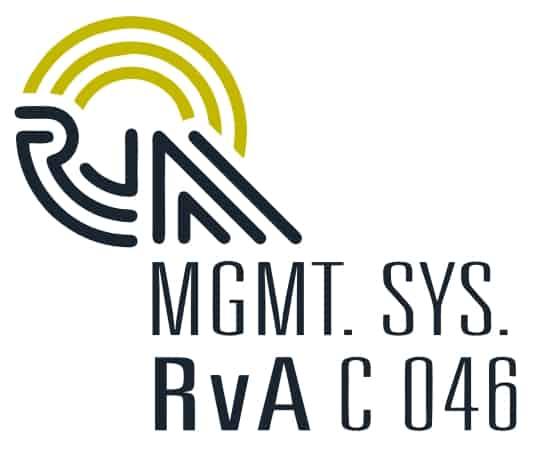 RvA QMS/EMS Certification Logo png