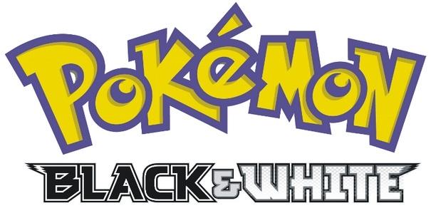Pokemon Black & White Logo [EPS PDF Files] png