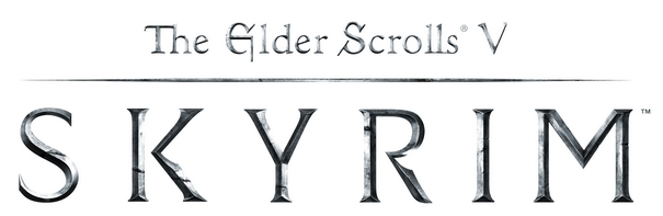 the elder scrolls v skyrim logo