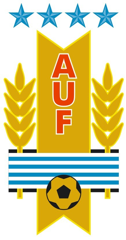 Uruguayan Football Association & Uruguay National Team Logo [auf.org.uy] png