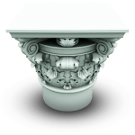 Greek Column Construction Icon Set 512x512 [4 PNG File] png