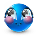 Blue face Icons 128x128 [PNG Files] png