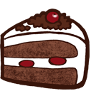 Cake and Dessert Icons 128x128 [PNG Files]