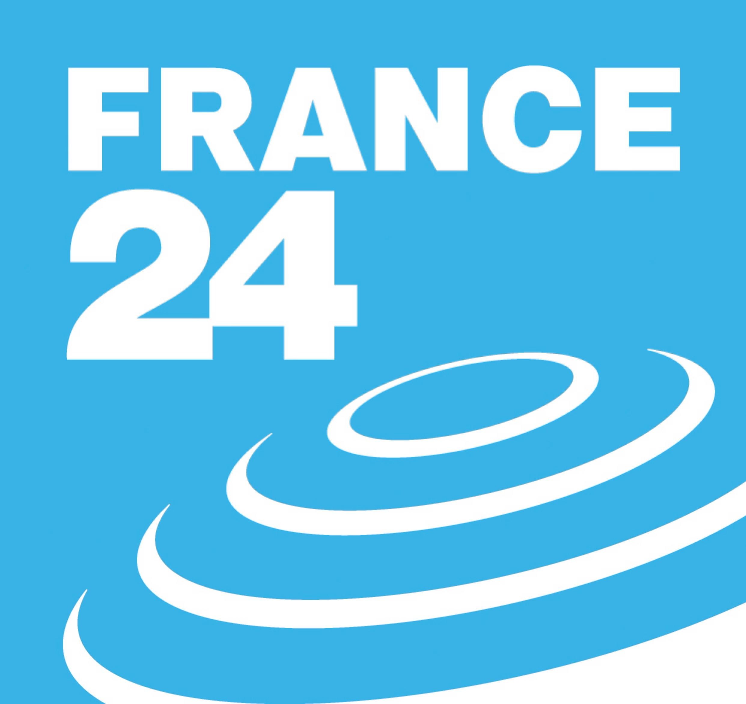 France 24 Logo [AI PDF] png