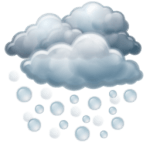 15 Weather Forecast Icons 256×256 [PNG Files]