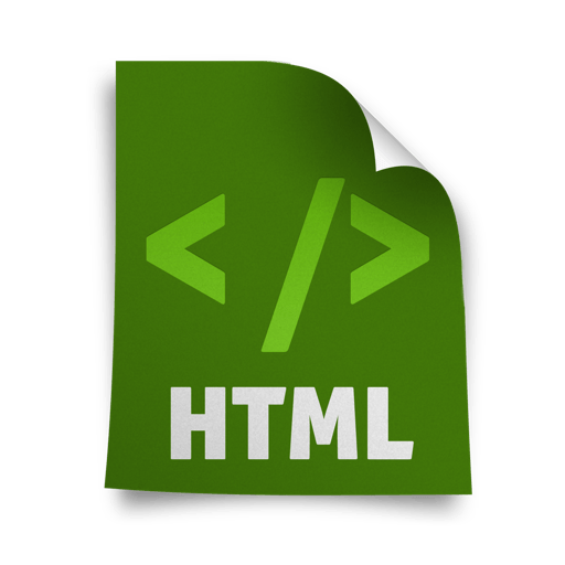 HTML Web Development Icons 512x512 [PNG Files] png