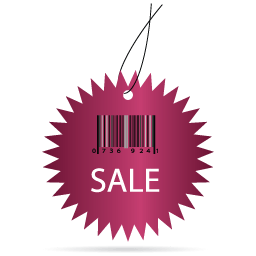 sale barcode label