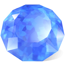Precious Stones Icons 256x256 [PNG Files] png
