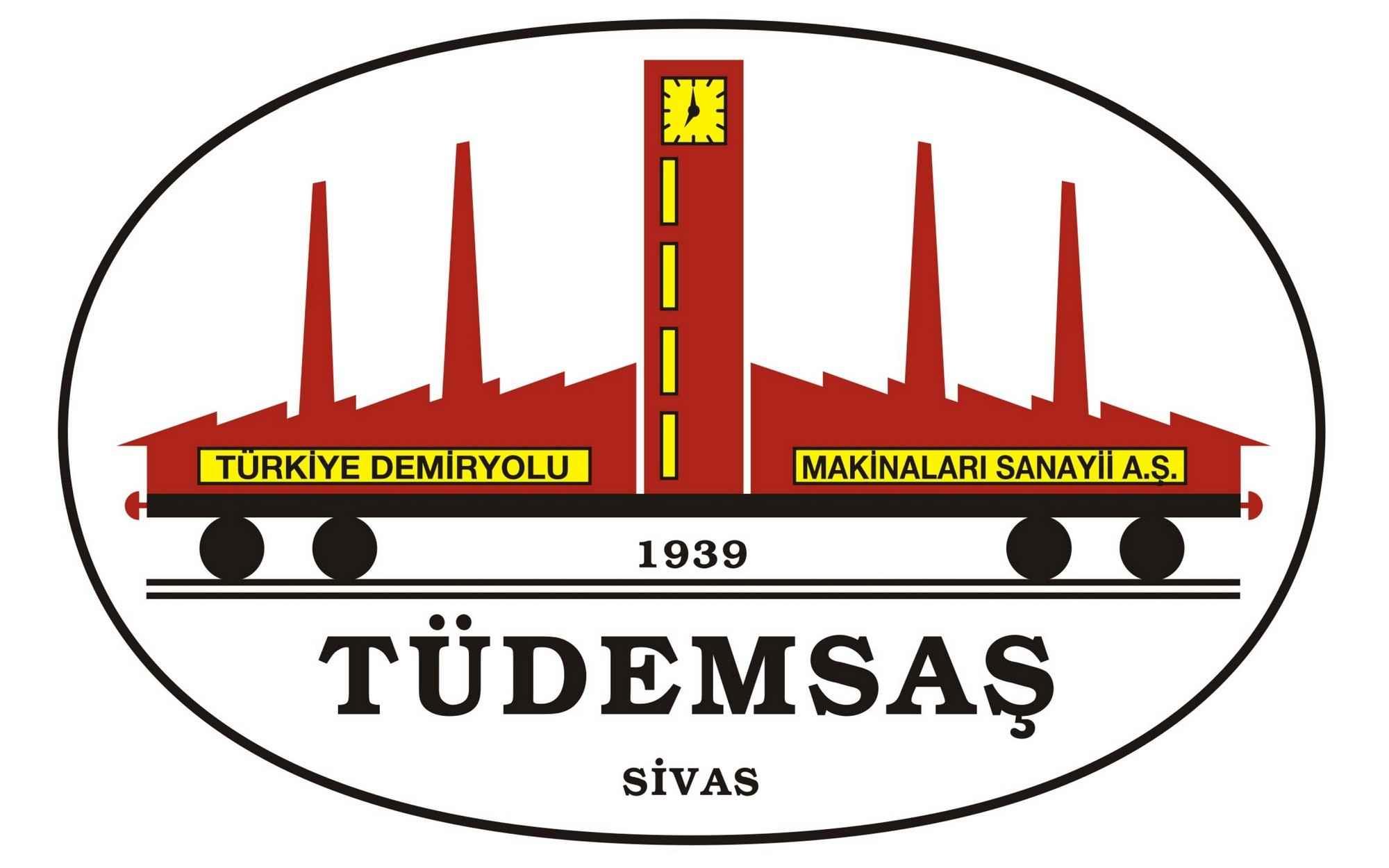 TÜDEMSAŞ – Türkiye Demiryolu Makinaları Sanayii A.Ş. Vektörel Logosu [EPS PDF Files] png