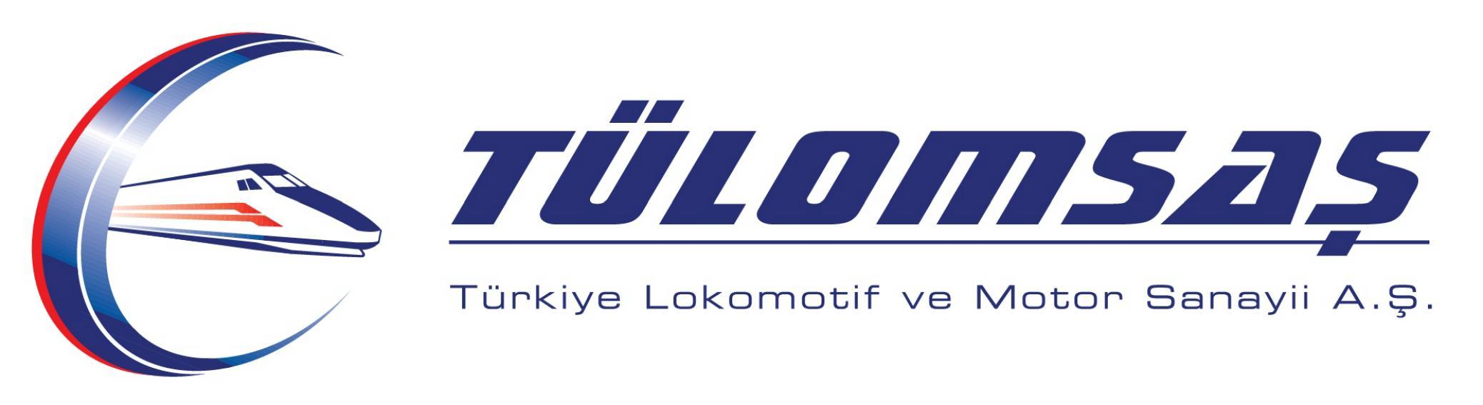 Tülomsaş   Türkiye Lokomotif ve Motor Sanayii A.Ş. Logo