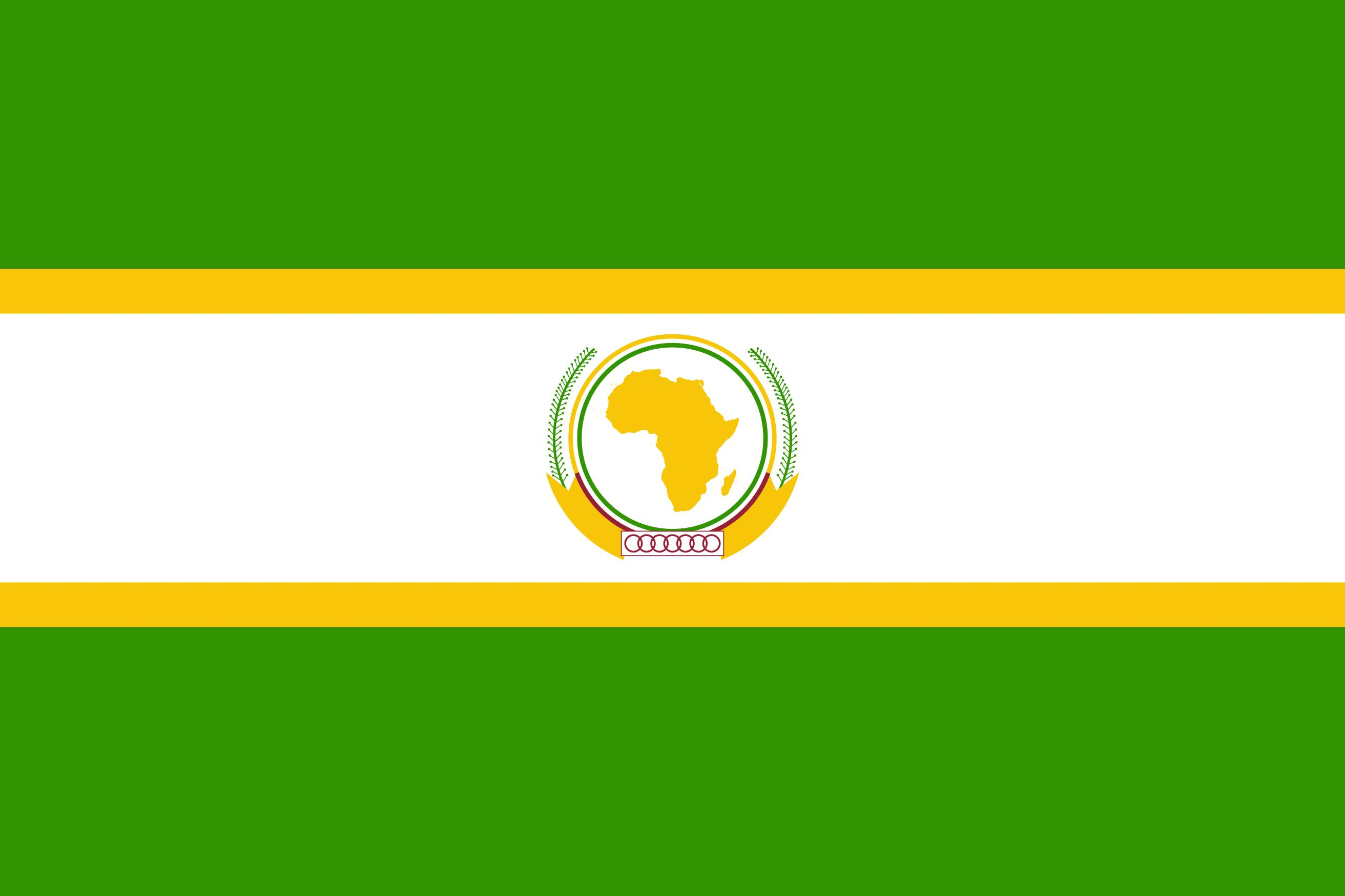 AU   African Union Logo and Flag png
