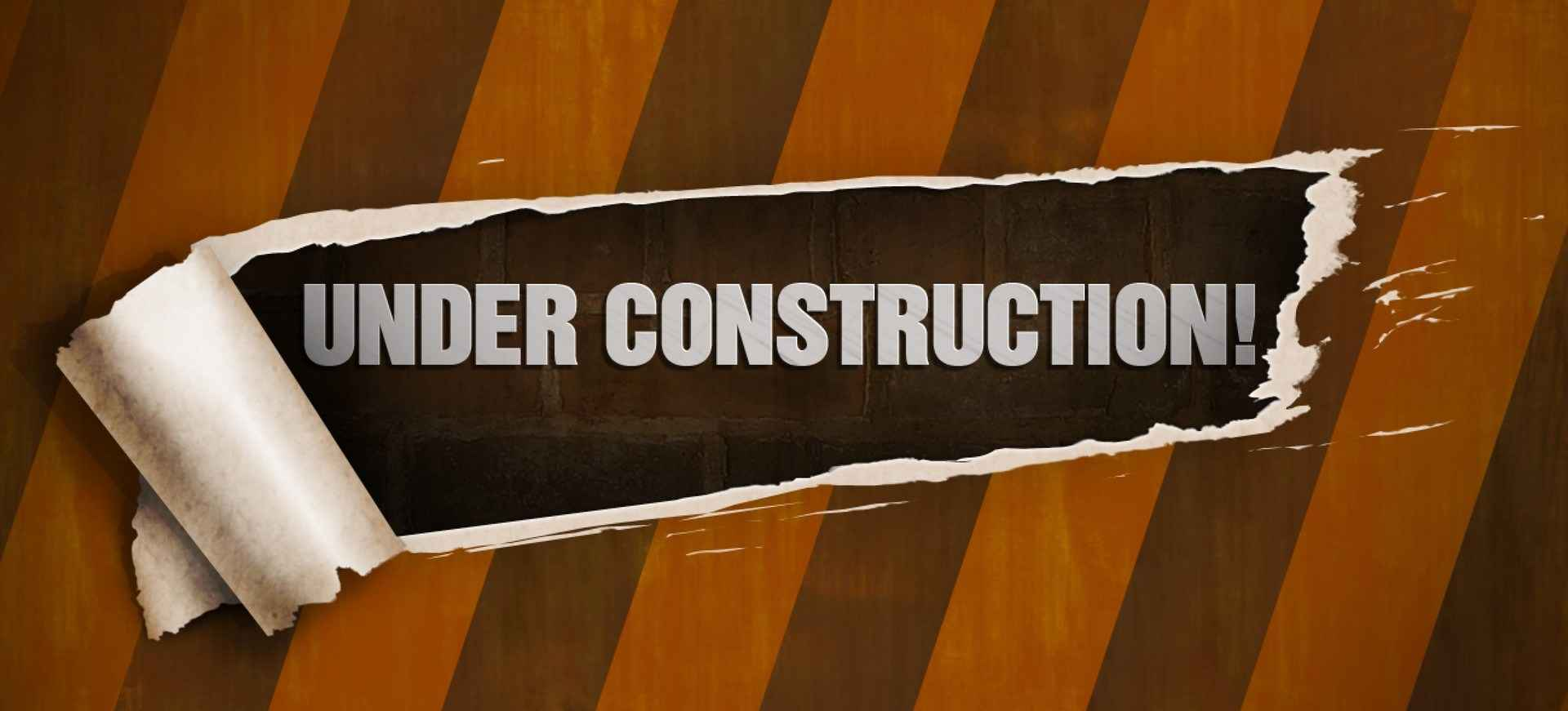 Under Construction Page PSD Template png