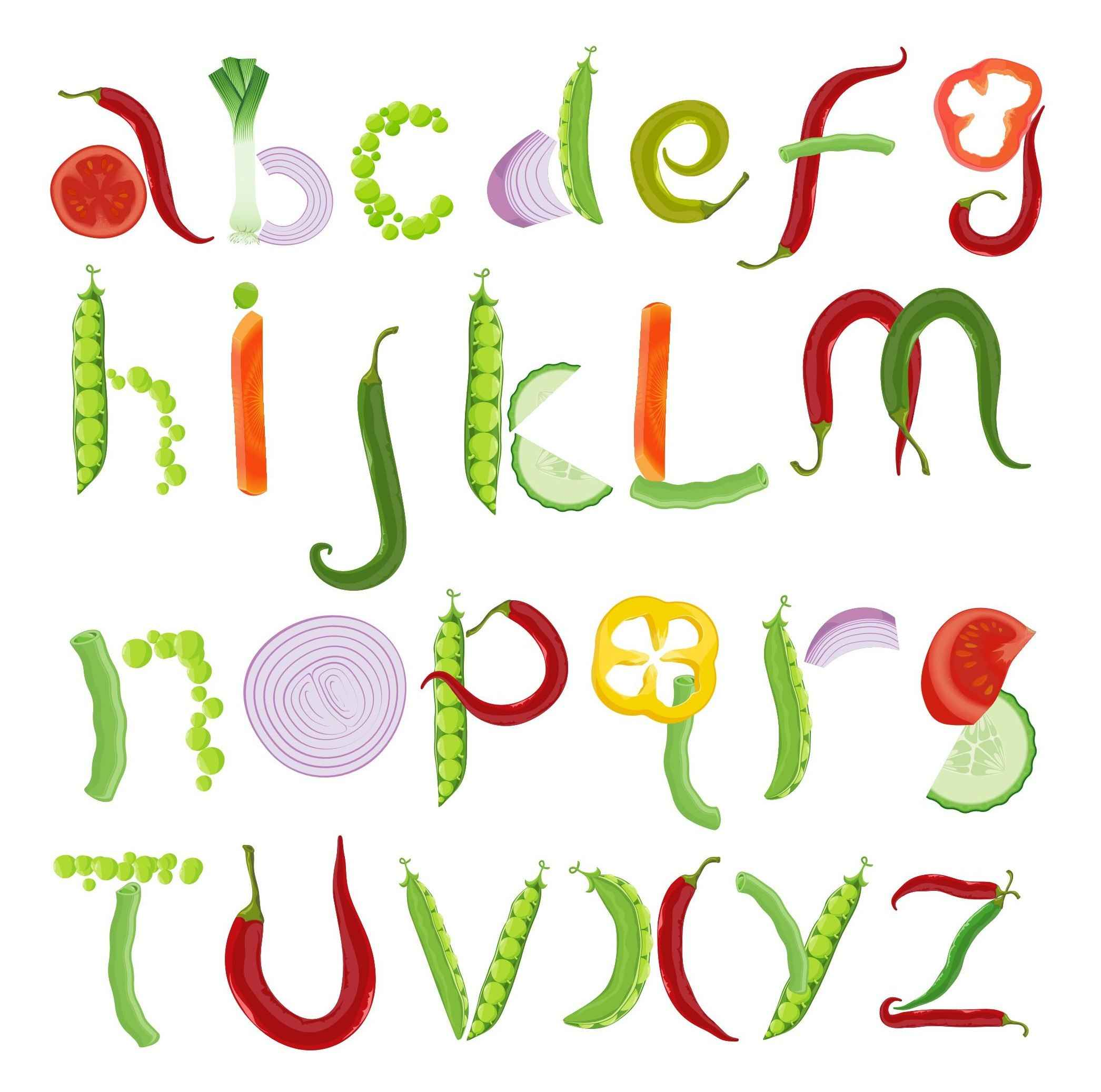 Alphabet Letters 01 png